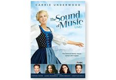 SOUND OF MUSIC LIVE! DVD - Starring Carrie Underwood and Stephen Moyer. Not Rated