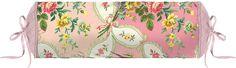 Liebliche Nackenrolle »La Fleur de Vie« aus dem Hause PiP Studio. Das Design dieser Rolle sorgt für ein romantisches Ambiente in Ihrem Schlafzimmer. Die ovale Form erstrahlt in zarten Farben mit sanftem Farbverlauf, die Rosenbouquets werden mit Blätterranken umgarnt. Das Kissen wird mit Füllung geliefert, die mit Hilfe des Zugbandes an den Enden auch herausgenommen werden kann. So können Sie di...