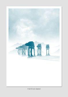 Sci Fi Movie Poster cartel Retro de la película por TheArtLoungeUK