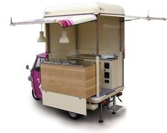 Ice-Cream Shop Piaggio on Wheels | Gelateria Veneta (Prague)