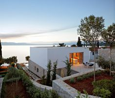 DVA Arhitekta have designed a house on Krk Island, Croatia