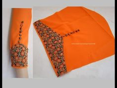 Amazing Designer Sleeves for Churidar / Kurti Cutting & Stitching - Very Simple & Easy Making - YouTube