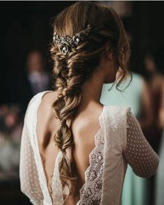 Arabella Lace Dress in Classic White Ideas for bridal hair Hair ideas and inspiration for a boho, festival, outdoor wedding and bride in Hair Inspiration, Wedding Inspiration, Wedding Ideas, Wedding Photos, Wedding Designs, Wedding Details, Wedding Planning, Tight Braids, Loose Braids