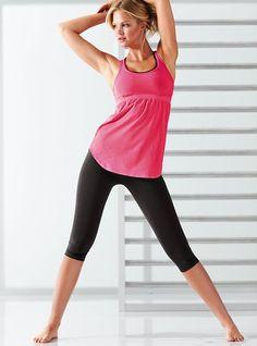 Pointelle Yoga Tank Top - Victoria's Secret Sport - Victoria's Secret
