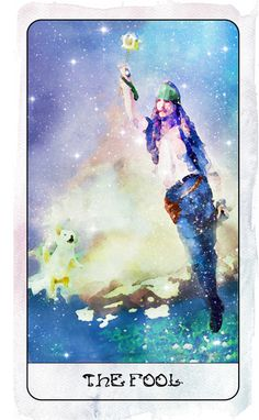 O. The Fool  (Cpt Sparrow/Pirates of the Caribbean/Johnny Depp) - Heart of Stars Tarot by Thom Pham