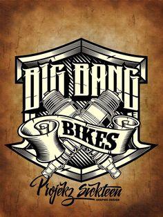 Big Bang Bikes Logo on Behance