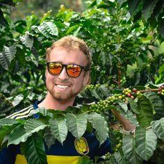 Adventures in Colombian coffee fields (courtesy of API #teachabroad participant Alex Maasdam). #ispyAPI