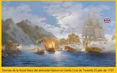 Derrota de la Royal Navy en Tenerife. 1797