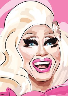 trixie mattel art - Google Search