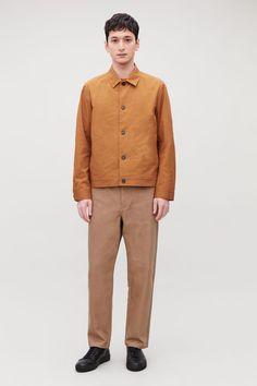 BUTTON-UP SHIRT JACKET S Shirt, Shirt Jacket, Shirt Style, Wardrobe Sale, Small Wardrobe, White Shirts, Button Up Shirts, Khaki Pants, Man Shop