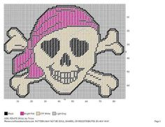 GIRL PIRATE SKULL by TRICIA 2/2