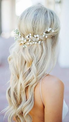 36 HALF UP HALF DOWN WEDDING HAIRSTYLES IDEAS
