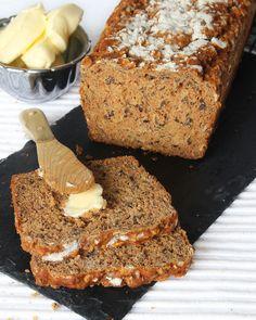 Beautiful Buns, Bread Baking, Keto, Lchf, Bread Recipes, Banana Bread, Veggies, Food And Drink, Gluten Free