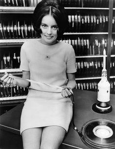 Female Radio Jockey, 1960s