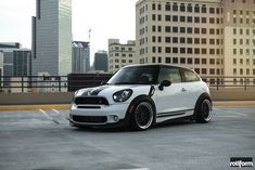 Stylish Mini Paceman Gets Some Custom Touches and Beautiful Rotiform Rims New Mini Countryman, Mini Cooper Paceman, Mini Copper, Military Discounts, Get Some, Us Images, Dream Cars, Black And White, The Originals