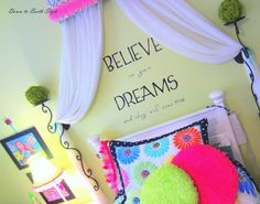 "Down to Earth Style: ""Tween"" Girl Room"