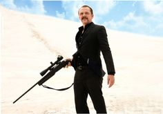 First Look at Simon Pegg as an Assassin in KILL ME THREE TIMES