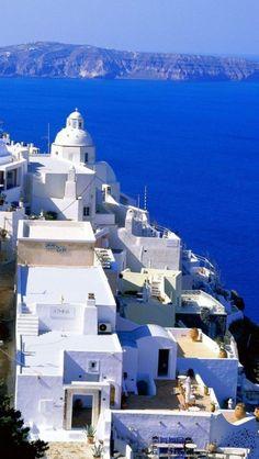 #holliday #greecce #santorini #sea #sun