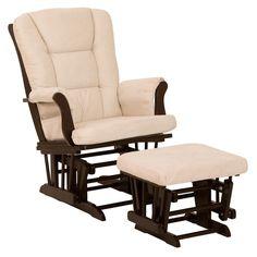Nursery Glider Rocker Ottoman Baby Room Rocking Chair Cushion Grey Gray Chevron   My Baby!   Pinterest   Rocking chair cushions Grey chevron and Rocking ...  sc 1 st  Pinterest & Nursery Glider Rocker Ottoman Baby Room Rocking Chair Cushion Grey ...