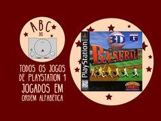3D Baseball  - Gameplay comentado em português [ABC do PS1]