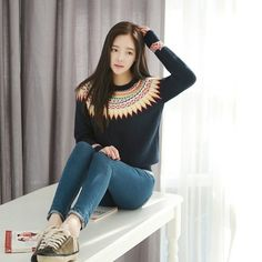 """@cs.ordersis's photo: """"Sweater : XY2223 DARK BLUE """"Original : china Material : Sweater Bust : 86cm can stretch to 104cm Sleeve : 62cm Length : 59cm 420grams"""" Rp178,000  #sweater #ordersis"""""""