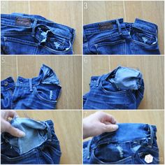 C: Take out your jean's waistband tutorial...aka make your pants bigger!