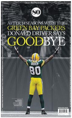 Goodbye Donald Driver  #80  <3