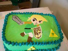 zelda birthday cakes | Zelda Birthday Cake