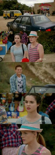 """#SwitchedAtBirth 4x15 """"Instead of Damning the Darkness, It's Better to Light a Little Lantern"""""""