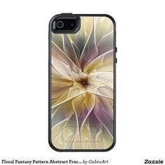 Floral Fantasy Pattern Abstract Fractal Art OtterBox iPhone 5/5s/SE Case