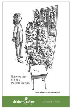 BACK TO SCHOOL, FORWARD TO NATURE: Ten Ways Teachers Can Fortify Their Students With Vitamin N by Richard Louv #Education #School #Nature