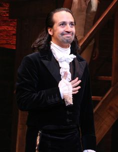 Lin-Manuel Miranda takes his final bow as Alexander Hamilton in Hamilton 7/9/16.