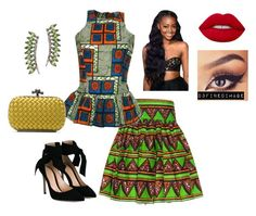 """""""Untitled #473"""" by d3finedimage on Polyvore featuring FAIR+true, Gianvito Rossi, Bottega Veneta and Sidney Chung"""