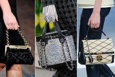 Fall/ Winter 2014-2015 Handbag Trends:Bags with Short Belts  #bags #bagtrends #trends