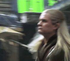 Legolas being fierce