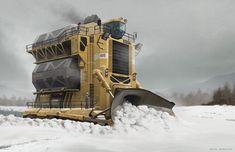 ArtStation - Snow melter, Rafal Banasiak