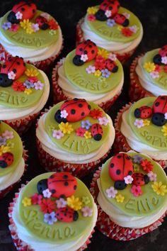 Ladybird Cupcakes  Cake by cupandcake
