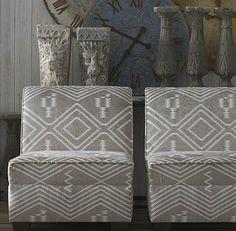 Andrew Martin Compass Navaho Fabric