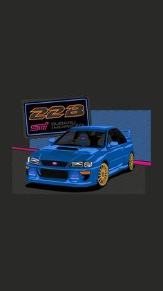 Subaru Impreza Sti, Wrx Sti, Tuner Cars, Jdm Cars, Jdm Wallpaper, Colin Mcrae, Gt Turbo, Japanese Domestic Market, Car Backgrounds