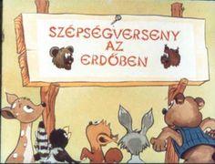 Szépségverseny az erdõben Folk Art, Retro, Comics, Education, Minden, Grimm, Anna, Popular Art, Cartoons
