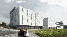 Segundo Lugar no Concurso para a Residência Universitária no Campus da Ajuda / AND-RÉ Arquitectura
