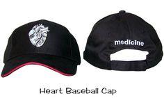 Heart Baseball Cap Medical Medicine