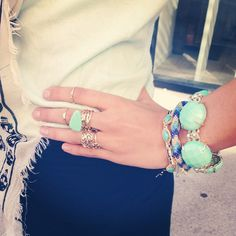trend we're loving: midi rings! #KendraScott