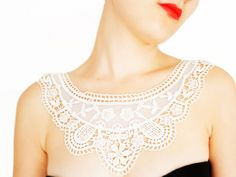 Lace Necklaces by EPUU on ETSY     #gift #lace #necklace #fashion