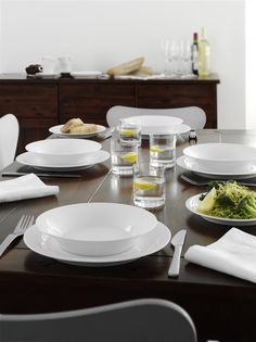 Design for the everyday. #design #everyday #white #products #tablesetting #simple #minimalistic
