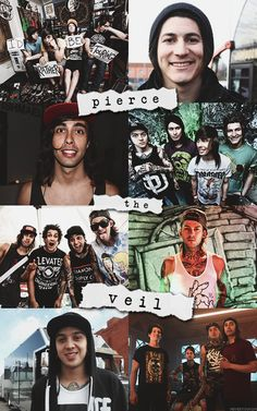 Pierce The Veil is the reason I'm here today.