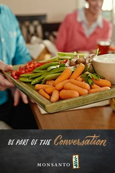 Baby carrots are wonderful for snacking or as a part of a balanced meal. But did you know they were only invented in the 1980's? Learn more about this great snacking staple on our news feed. #Monsanto