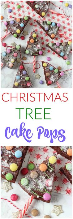 Have some fun with festive baking and make these Christmas Tree Chocolate Cake Pops. They are really easy to make and the kids will absolutely love decorating them! Christmas Tree Chocolates, Christmas Tree Cake, Christmas Trees For Kids, Christmas Cupcakes, Christmas Treats, Christmas Baking, Christmas Brownies, Christmas Christmas, Christmas Ornament
