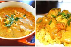 Foodista | Recipes, Cooking Tips, and Food News | Creamy Curry Chicken With Yellow Rice