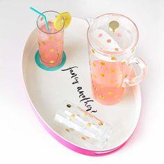kate spade new york serveware —Pink lemonade? Polka dots? Yes, please!